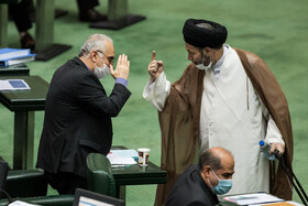 Public session of Iran's Parliament held on Sun.