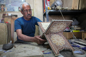Iran's handicrafts are seen in Vakil Bazaar of Shiraz City, Iran, June 8, 2020.