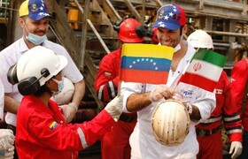 Iran's cargo ship enters Venezuela's water