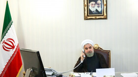 All countries must work together to defeat coronavirus: Iran's President
