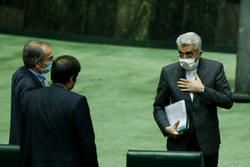 Open session of Iran's Parliament held on Wed.