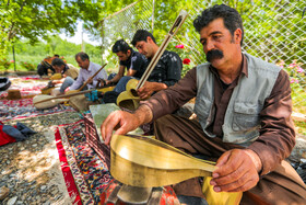 The musical instruments of Kermanshah Province, Iran, June 13, 2020.