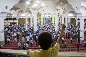 The first Friday Prayers in Qom City is held after four months, Iran, June 26, 2020.
