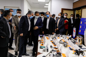 The exhibition of new products of Industry, Mining and Trade in Tehran, Iran, June 30, 2020.