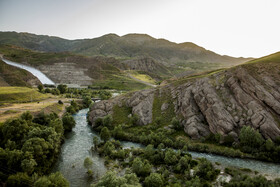 The nature of Taleghan City is seen in the photo, Alborz, Iran, July 12, 2020.