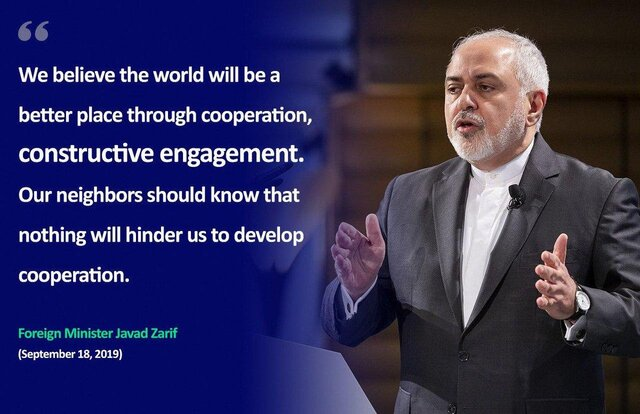 Iran always believe in dialogue