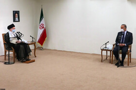 The meeting between Iran's Supreme Leader Ayatollah Ali Khamenei and Iraqi Prime Minster, Mustafa Al-Kadhimi, Tehran, Iran, July 21, 2020.