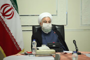 Gov't ready to help knowledge-based companies working for COVID-19 medicine, vaccines: President Rouhani