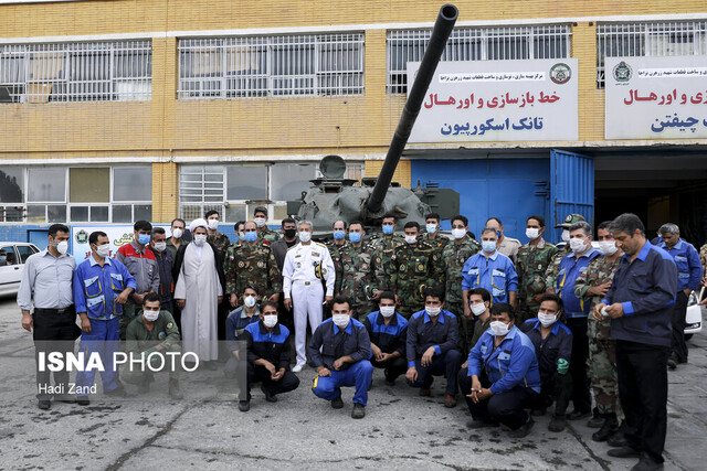 Iran's army manufacturing most military equipment domestically