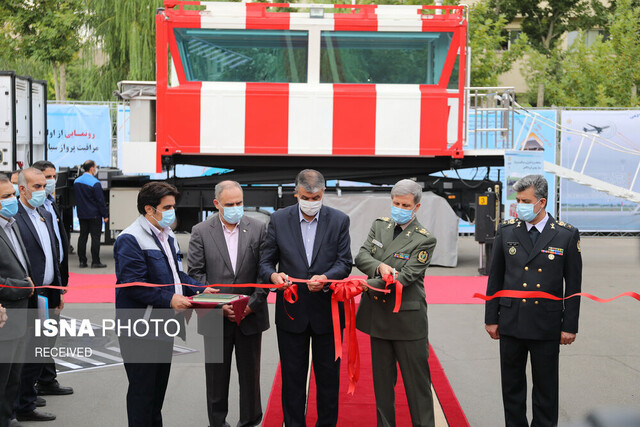 Iran's advanced mobile air traffic control tower unveiled