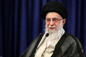 Iran's Leader delivers a speech on the occasion of Eid al-Adha, Tehran, Iran, July 31, 2020.