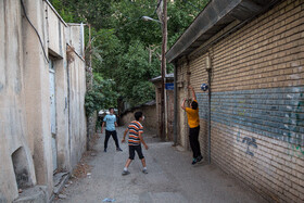 Teenagers have leisure amid the outbreak of the coronavirus, Tehran, Iran, August 3, 2020.