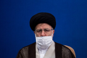 Iran's Judiciary Chief, Ebrahim Raeisi, is present in the session of the Supreme Council of Economic Cooperation, Tehran, Iran, August 4, 2020.