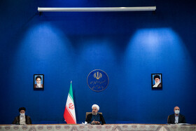 The session of the Supreme Council of Economic Cooperation is held in the presence of senior Iranian officials, Tehran, Iran, August 4, 2020.