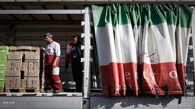 Iran's Red Crescent begins sending food, medical equipment to Lebanon