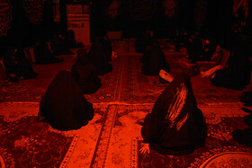 The mourning ceremony of the night of Ashura in Bushehr, Iran, August 29, 2020.