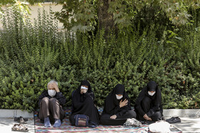 The mourning ceremony of Ashura Day in Tehran, Iran, August 30, 2020.