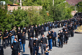 The mourning ceremony of Ashura Day in Chehragan Village, West Azerbaijan, Iran, August 30, 2020.