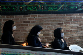 The mourning ceremony of Sham-e Ghariban is held in Sanandaj, Iran, August 30, 2020.