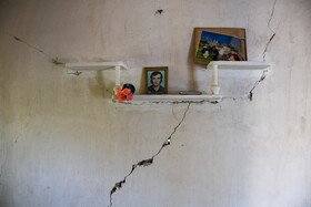 Damages of 5.1-magnitude earthquake in Ramian County, Golestan, Iran, September 7, 2020. According to reports, 41 people were injured after the earthquake.