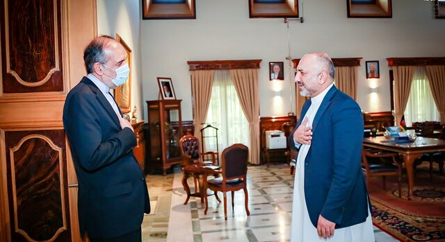 Afghanistan's acting FM appreciates Iran's stand toward Inter-Afghan peace negotiations