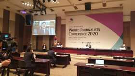 Exchange views of 85 journalists from 53 countries