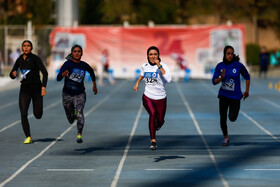 Women track and field competitions held in Tehran