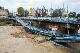 Damages of the flood to the cities of Gilan, Iran, September 21, 2020.