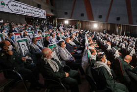 A ceremony honoring the veterans of the Sacred Defense, Tehran, Iran, September 21, 2020.