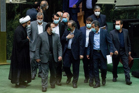 Public session of Iran's Parliament held on Wed.