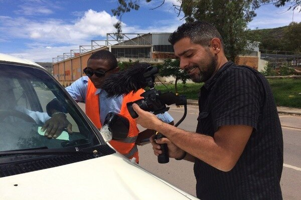 Salvadorian filmmaker hails medical personnel who are light carries