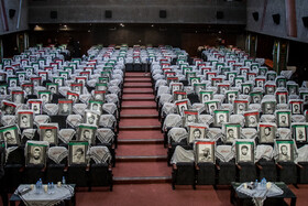 On the sidelines of a ceremony for honoring commanders and martyrs' families of the Sacred Defense (Saddam's imposed war on Iran), Tehran, Iran, September 28, 2020.