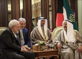 Foreign Minister Zarif pays tribute to late Emir of Kuwait