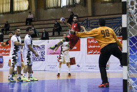 A handball match of Iran men's handball league takes place, Tehran, Iran, October 10.