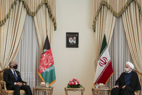 President meets with Afghan peace official