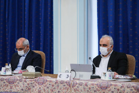 The session of Iran's Cabinet Ministers is held in the presence of Iranian President, Hassan Rouhani, Tehran, Iran, October 21, 2020.