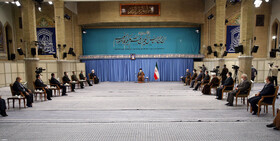 The session of the National Task Force for Fighting Coronavirus is held in the presence of Iran's Leader, Tehran, Iran, October 24, 2020.