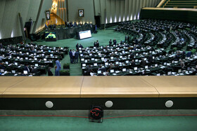 The open session of Iran's Parliament, Tehran, Iran, October 26, 2020.