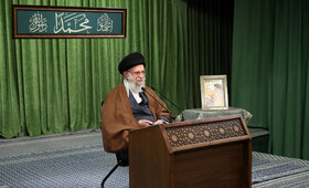 Iran's Supreme Leader Ayatollah Ali Khamenei delivers a speech on the occasion of the birth anniversaries of the Prophet Muhammad (PBUH) and Imam Sadeq (PBUH), Tehran, Iran, November 3, 2020.