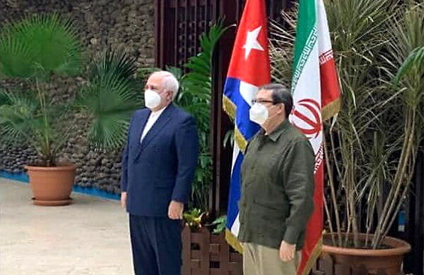 Iranian, Cuban Foreign Ministers discuss mutual cooperation