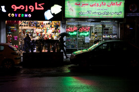 A nightly shutdown of businesses has been imposed to contain the spread of the third wave of the coronavirus in Tehran, Iran, November 10, 2020.