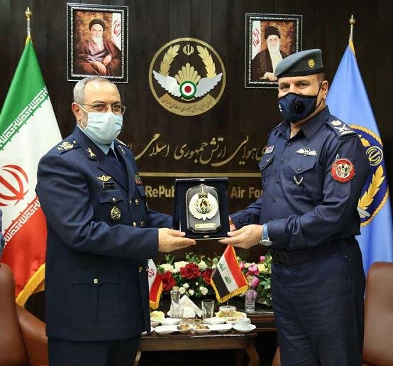 Iran, Iraq Air Force commanders assess plans for closer bilateral cooperation