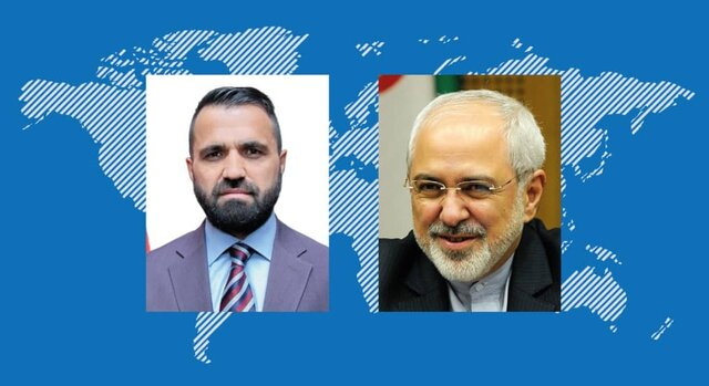 Iran supports Afghan peace process led by Kabul government: Zarif