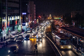The atmosphere of Tehran a day before the imposition of new restrictions, Iran, November 20, 2020.