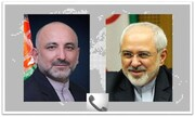 Iranian, Afghan Foreign Ministers hold phone talks
