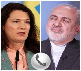 Iranian, Swedish Foreign Ministers hold phone talks