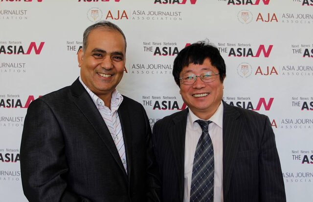 Chairman of Samsung gives me inspirations: Founder of the Association of Asian Journalists