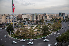 Tehranpars neighborhood is seen in the photo, Tehran, Iran, December 7, 2020.