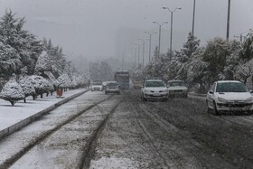 Snow covers Hamadan for first time in autumn