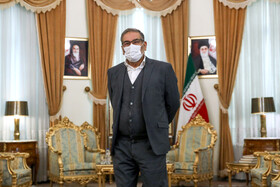 Ali Shamkhani, the secretary of the Supreme National Security Council of Iran, is seen before the beginning of his meeting with Syrian Foreign Minister, Faisal Mekdad, in Tehran, Iran, December 8, 2020.